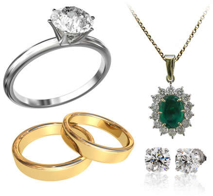 Diamond and Gem Set Jewellery